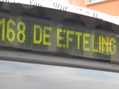 Bus 168 in Den Bosch