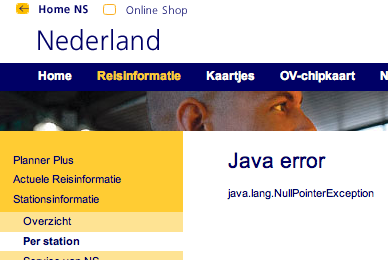 java.lang.NullPointerException